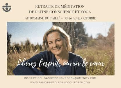 retraite en silence et méditation pleine conscience